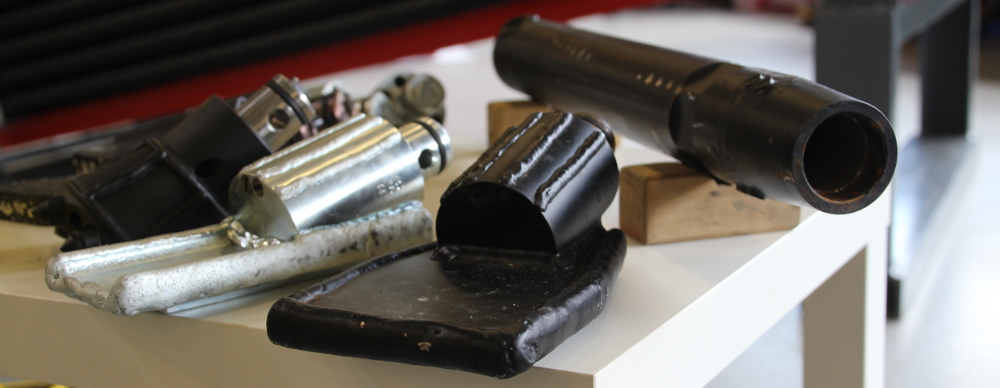 Bohrwerkzeug für HDD Spülbohranlagen und Erdraktene