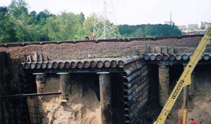 Pipe roofing